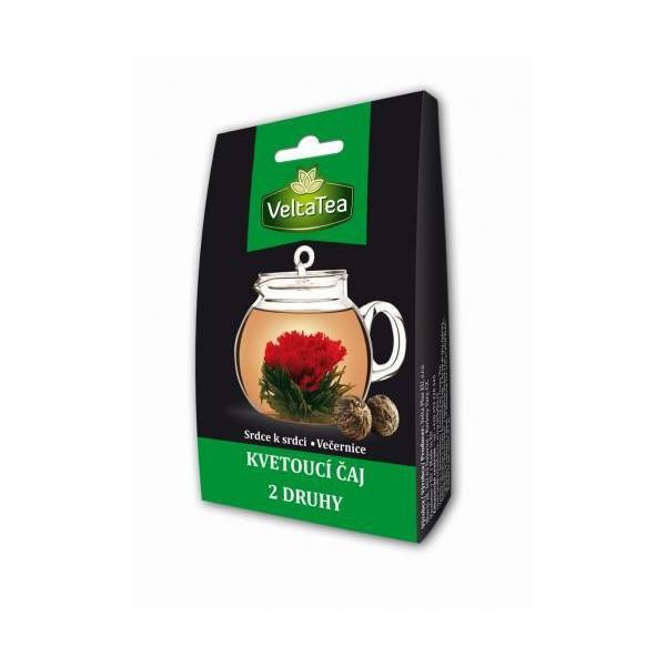 Velta Tea - Mix 2 druhů kvetoucích čajů 2 x 6 g - zelený