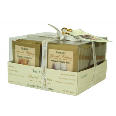 Tea of Life - Organic tea collection mix čajů 6x8x2 g