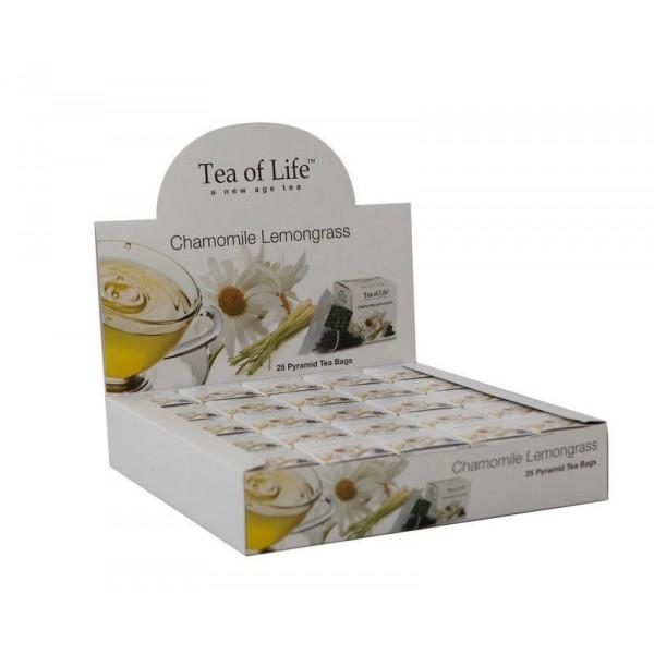 Tea of Life Chamomile and Lemon grass 25x2g