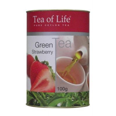 Tea of Life Green Strawberry 100g