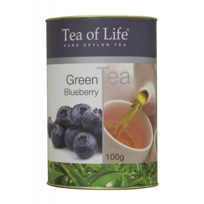 Tea of Life Green Blueberry 100g