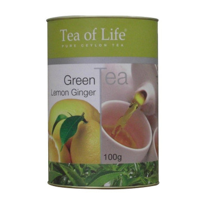 Tea of Life Green Lemon Ginger 100g