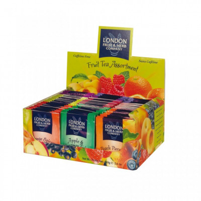 London Fruit & Herb - Display ovocný 80x2g