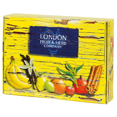 London Fruit & Herb -Special Edition Pack 5x6x2g