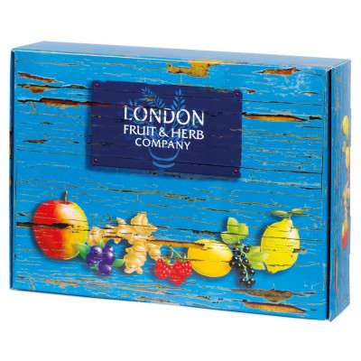London Fruit & Herb - Limited Edition Pack 5x6x2g