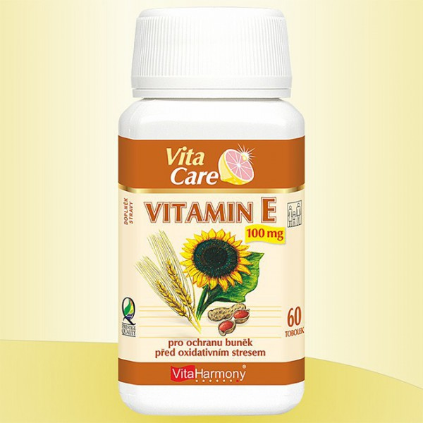 Vitamin E 100 mg - 60 tob.