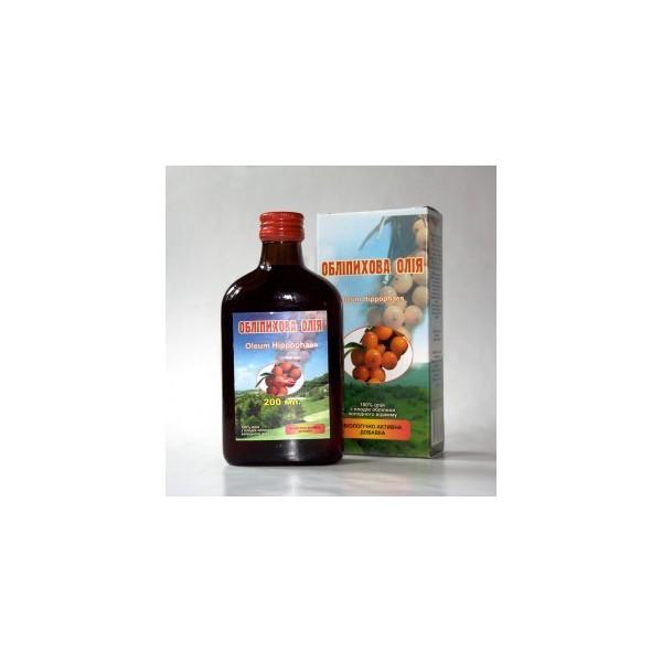 Rakytníkový olej 100% 130 karotenoidů z plodů a semínek 200 ml ELIT