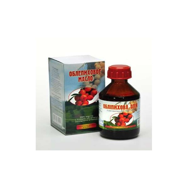 Rakytníkový olej 100% 180 karotenoidů z plodů a semínek 100 ml ELIT