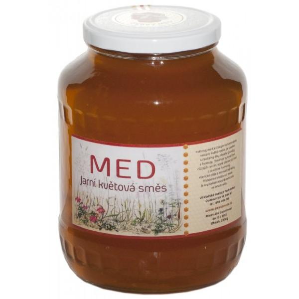 Med květový, Med 2,3 kg - velké balení MEDMORAVIA