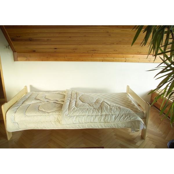 Přikrývka Vlna Kašmír 135x220 cm / 1650 g, LŮŽKOVINY 1600 g