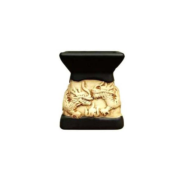 AROMATIKA aroma lampa černá basreliéf Draci Aromatika