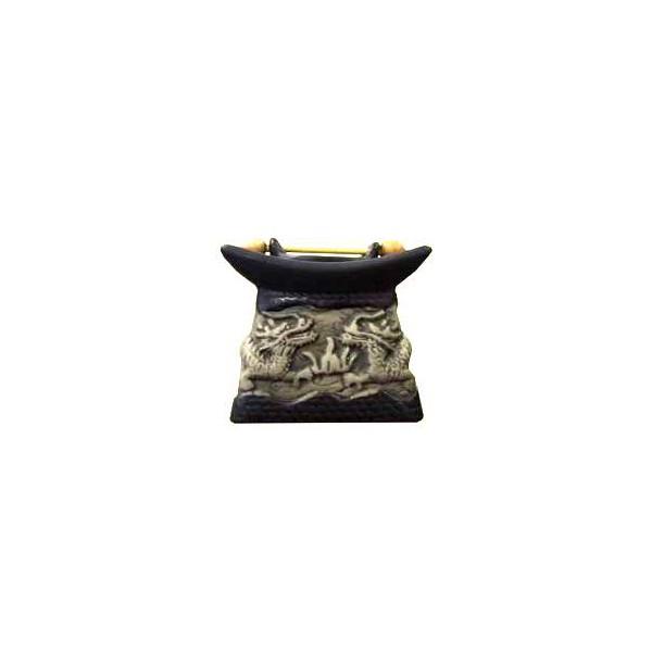 AROMATIKA aroma lampa Dračí studna - pagoda černá Aromatika