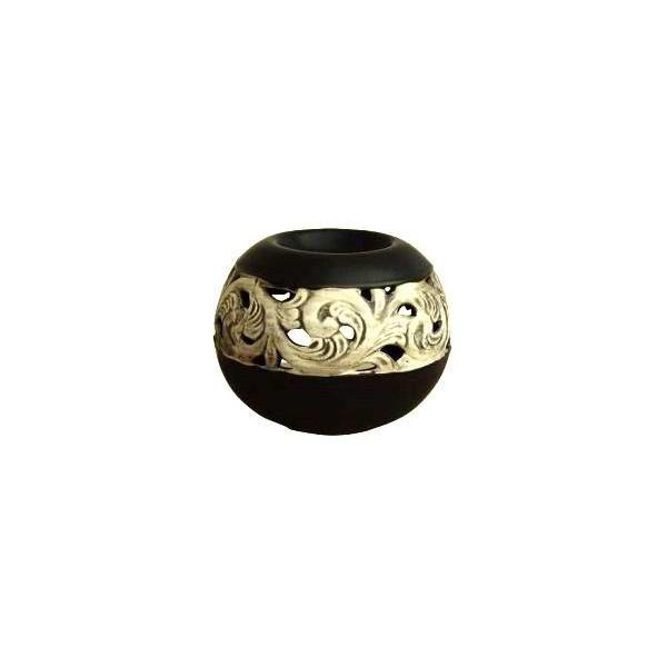 AROMATIKA aroma lampa Koule černá Aromatika