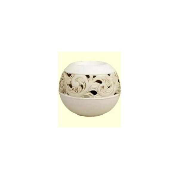 AROMATIKA aroma lampa Koule bílá Aromatika
