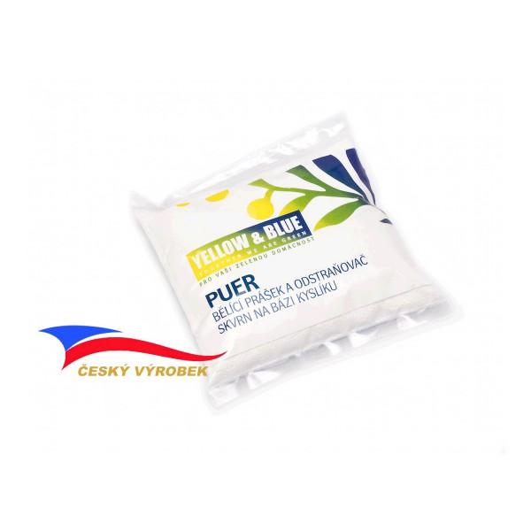 Puer - bělící prášek na bázi kyslíku, Hmotnost: 500 g TIERRA VERDE YBP-BPK0500s