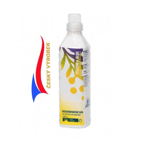 Yellow & Blue Regenerační sůl do myčky na nádobí 2 kg TIERRA VERDE