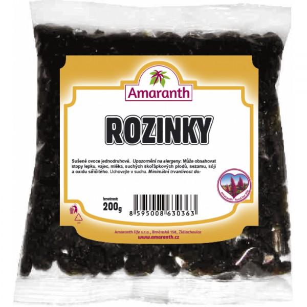 Rozinky 200g AMARANTH