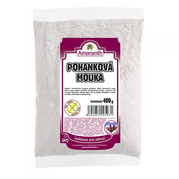 Amaranth Pohanková mouka 400g AMARANTH