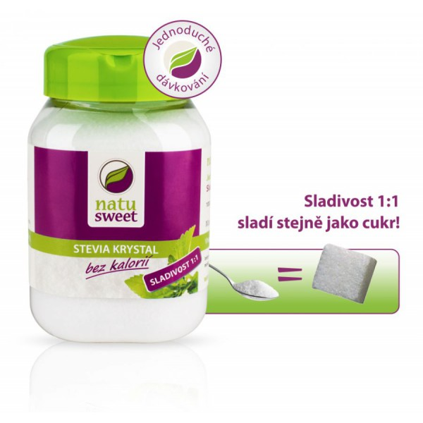 Reisenberger Stevia Natusweet Kristalle 400 g Natusweet
