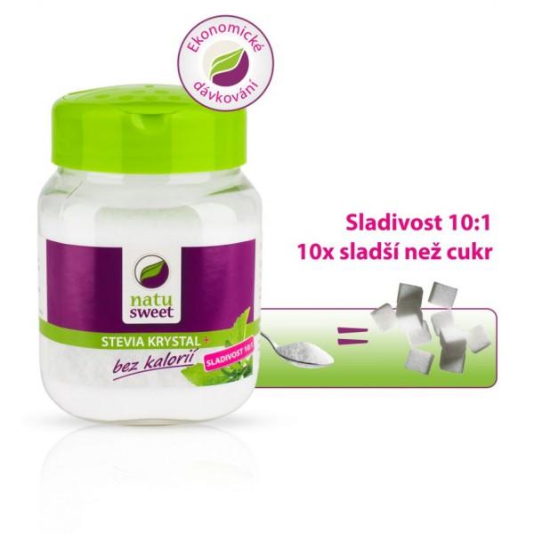 Natursweet Stevia Kristalle 10:1 sladidlo 250g Natusweet