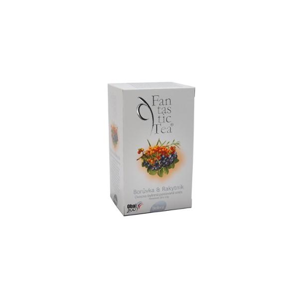 Fantastic Tea Borůvka + Rakytník n.s. 20 x 2,5 g Biogena 16128