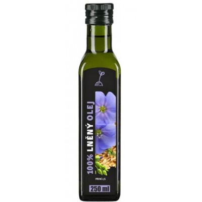 RICH Lněný olej 100% 250ml