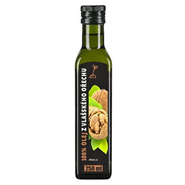 RICH Olej z vlašských ořechů 100% 250ml RICH O019