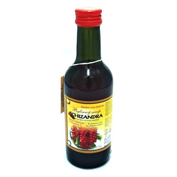 Klášterní Officína sirup Schizandra/Klanopraška 0,25 l Klášterní officína