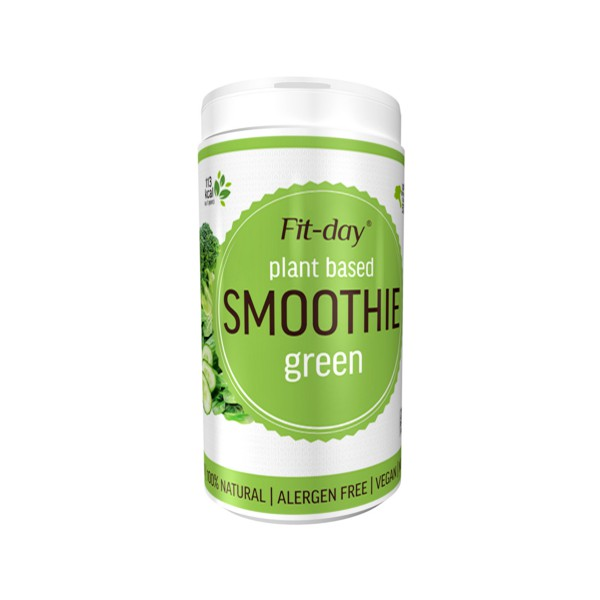 Fit-day Plant Based Smoothie green 600 g Fit-day
