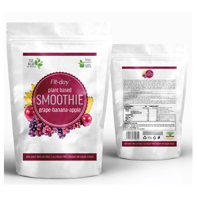 Fit-day Smoothie Grape-Banana-Apple 90 g