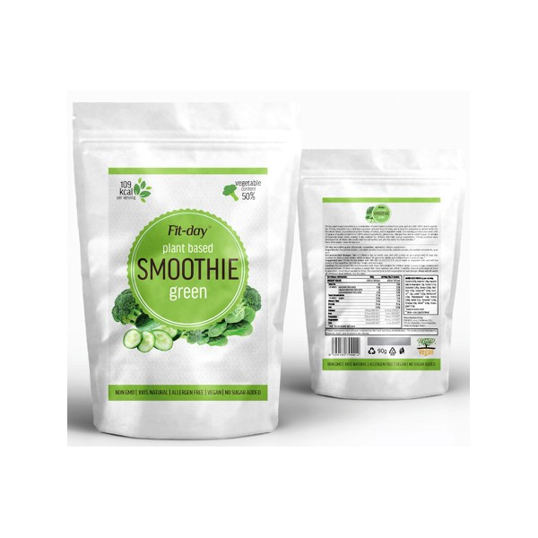 Fit-day Smoothie Green 90 g Fit-day