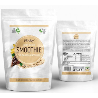 Fit-day Smoothie Oat-banana-chocolate 90 g