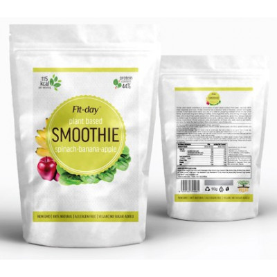 Fit-day Smoothie Spinach-Banana-Apple 90 g