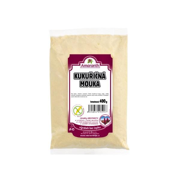 Amaranth Kukuřičná bezlepková mouka hladká 400 g AMARANTH