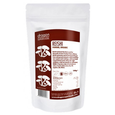 Dragon Superfoods Reishi prášek 100 g