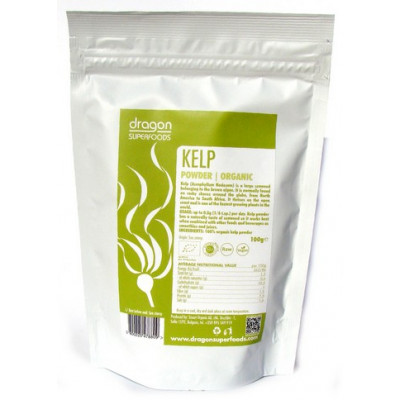 Dragon Superfoods Prášek Kelp Bio Raw 100 g