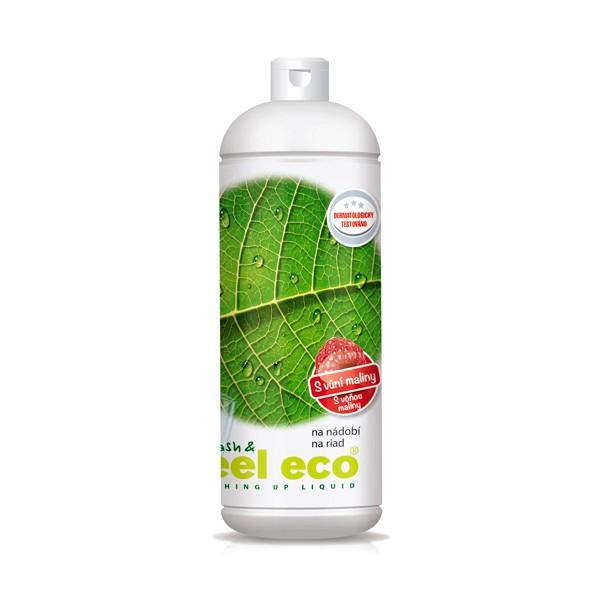 Feel Eco prostředek na nádobí s vůní maliny 1 l Feel Eco
