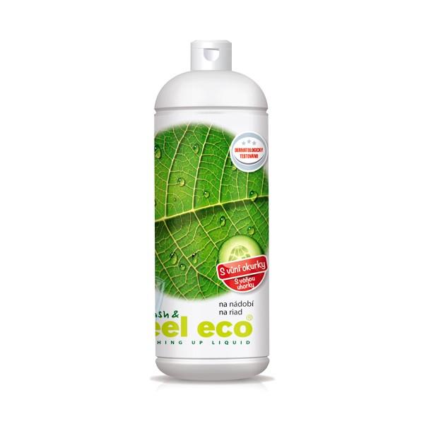 Feel Eco prostředek na nádobí s vůní okurky 1 l Feel Eco