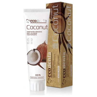 Ecodenta zubní pasta s kokosovým olejem 100 ml