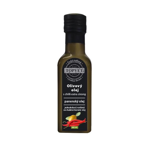 TOPVET Olivovy olej s chilli - extra silný 100ml Topvet 1124