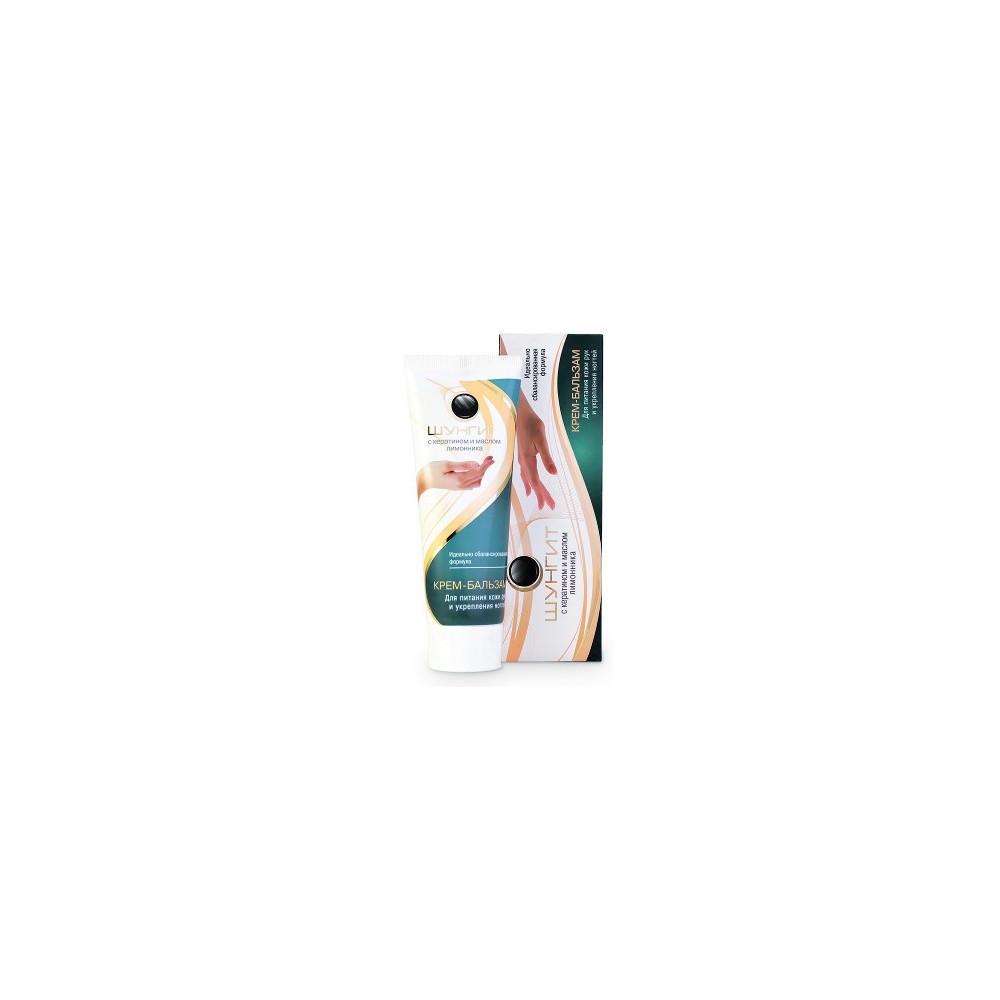 Frattinv Šungitový krém-balzám na výživu pokožky rukou a posílení nehtů (keratin) 75 ml