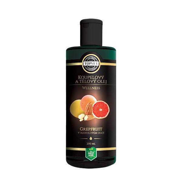 Fotografie TOPVET Grapefruit v mandlovém oleji 200ml Topvet 903
