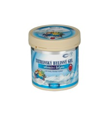 TOPVET Tatranský bylinný gel - chladivý 250ml