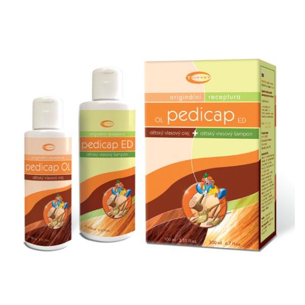 Fotografie TOPVET Pedicap SET olej OL 100ml+šampon ED 200ml