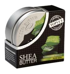 TOPVET Bambucké máslo (shea butter) s aloe vera 100ml