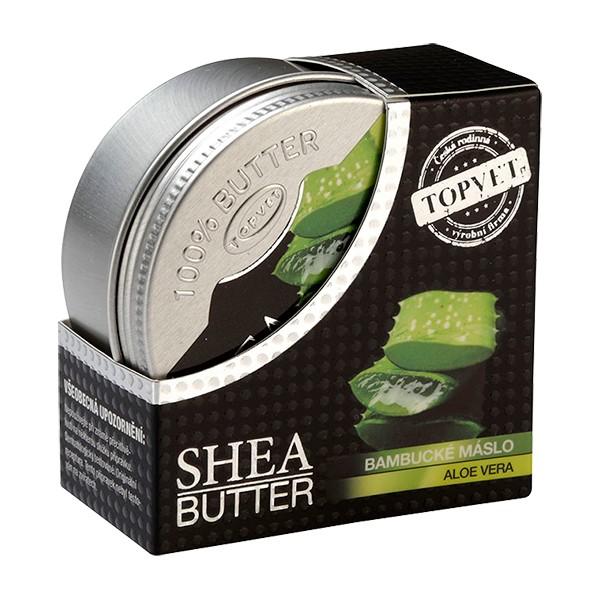 TOPVET Bambucké máslo (shea butter) s aloe vera 100ml Topvet 821