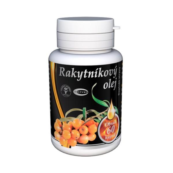 TOPVET Rakytnikový olej - tobolky 60ks Topvet 126
