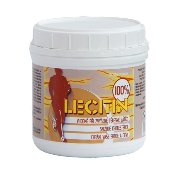 TOPVET Lecitin granulovaný 100% 200g Topvet 330