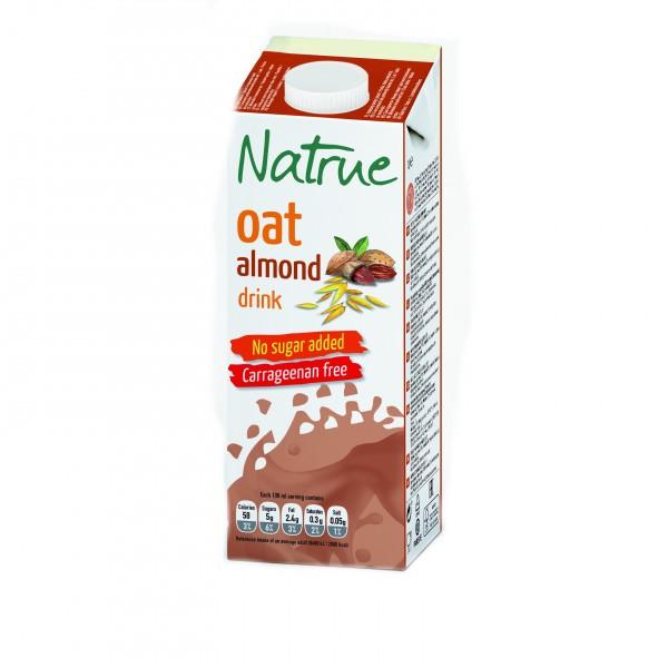 Natrue mandlovo-ovesný nápoj bez přidaného cukru 1000 m Liquats Vegetals