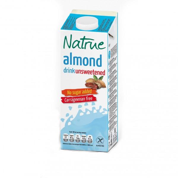 Natrue mandlový nápoj bez lepku a přidaného cukru 1000 ml Liquats Vegetals
